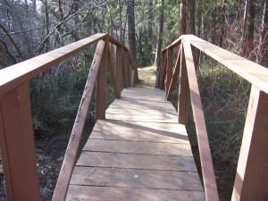Footbridge, Grider Creek Campground