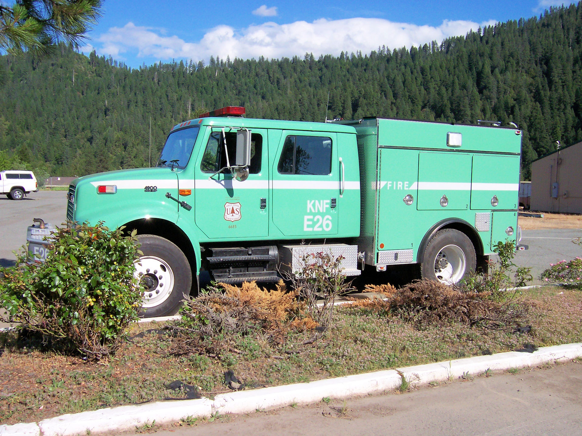 Forest Service Vehicle, Happy Camp, CA