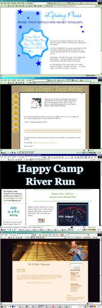 Webdesign Portfolio Screenshot Stack for Pinterest