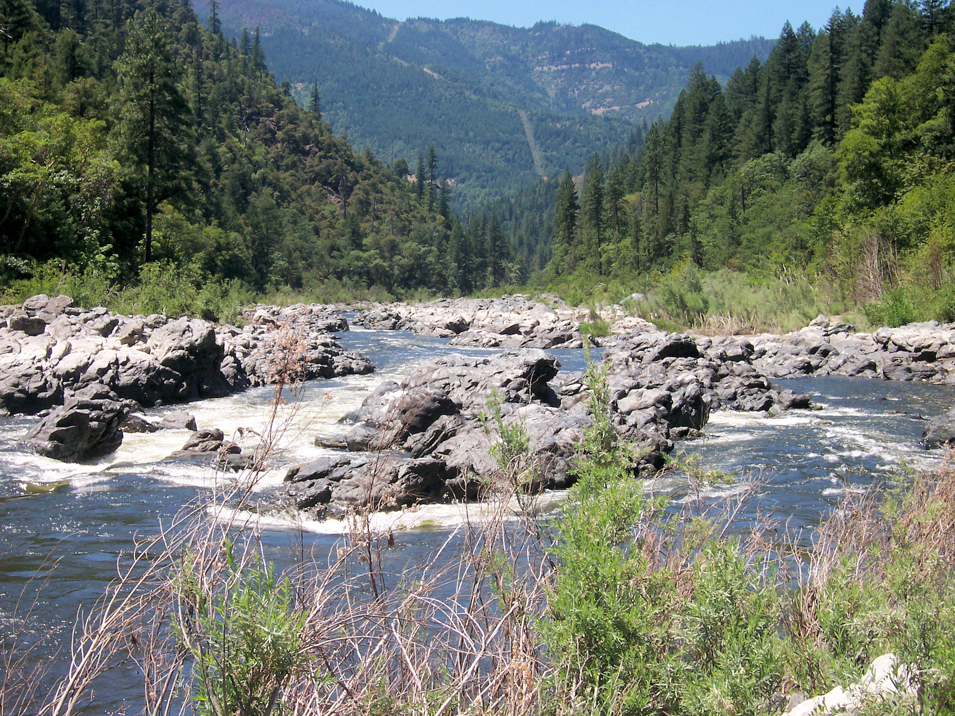 Klamath River, at Savage Rapids - 2006